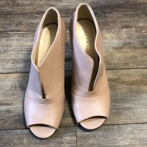 Nine West Artissa Blush Open Booties